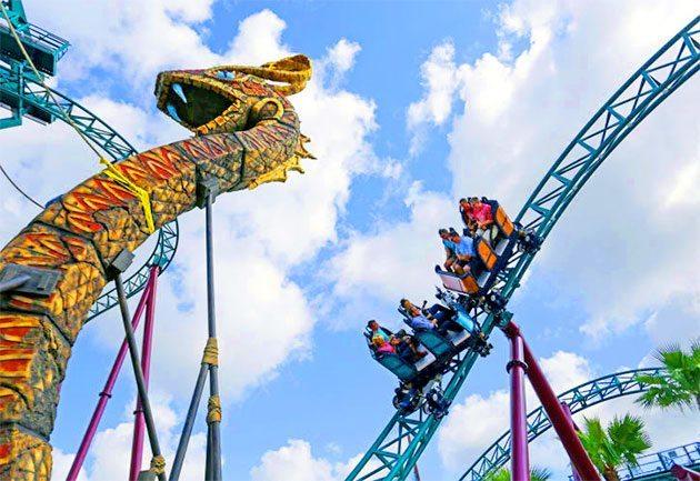 Best Rides at Busch Gardens in Florida